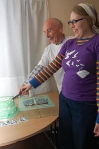 DFD cake cut