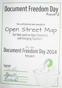 DFD certificate