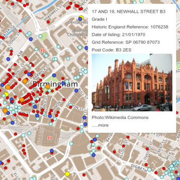 West Midlands Heritage Map
