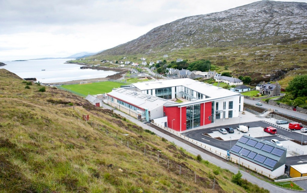 Sir E Scott School in in the Outer Hebrides. Image courtesy of Urban Realm.