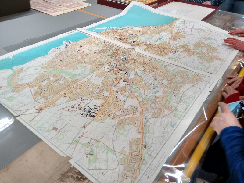 Russian military maps (read all about these secret cold war maps).